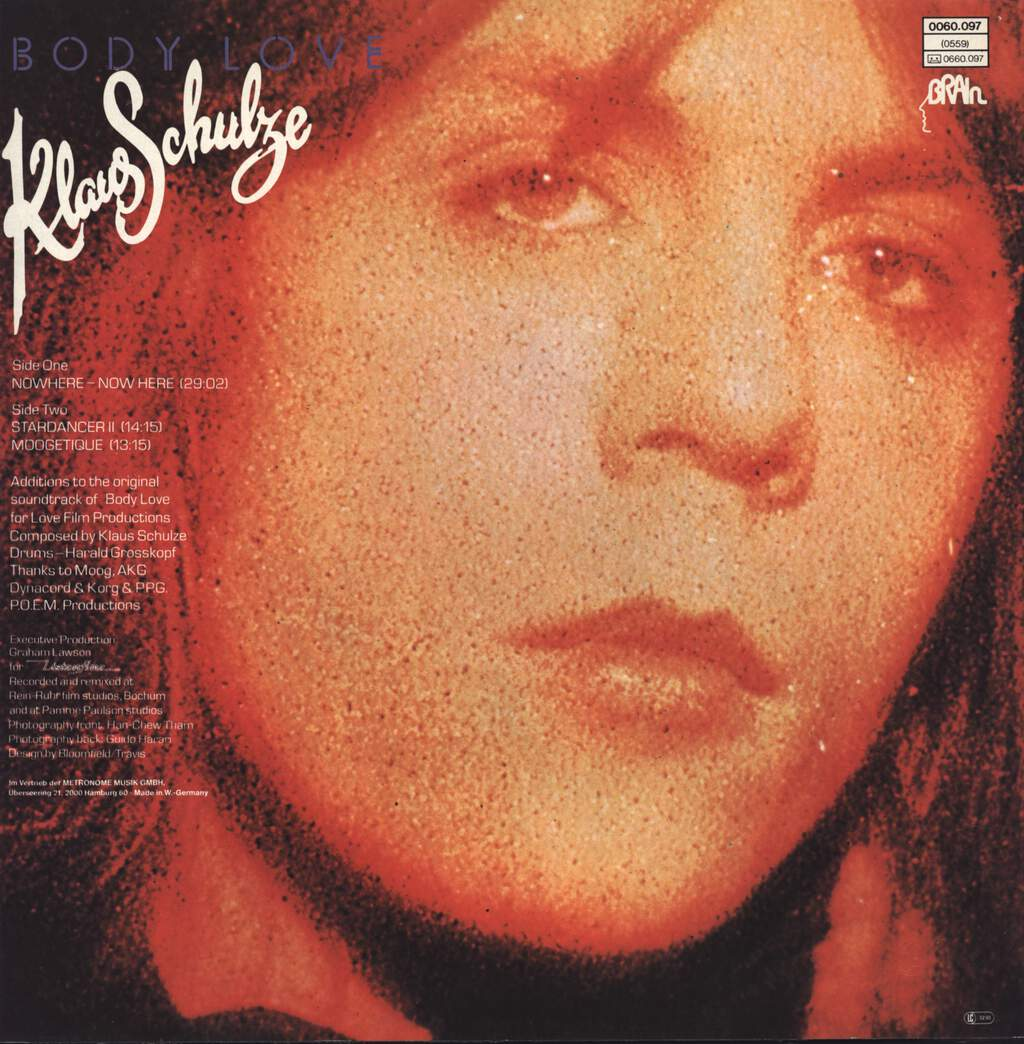 Klaus Schulze: Body Love Vol.2, LP (Vinyl)