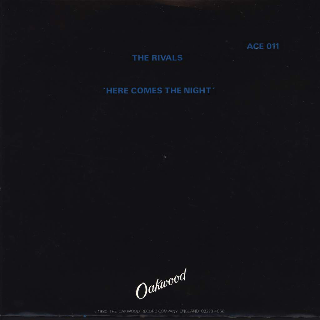 "The Rivals: Here Comes The Night, 7"" Single (Vinyl)"