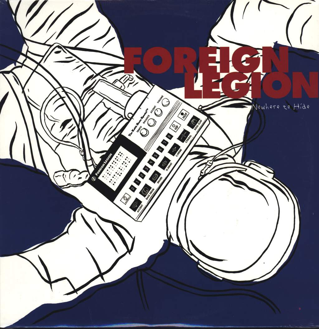 "Foreign Legion: Nowhere To Hide, 12"" Maxi Single (Vinyl)"
