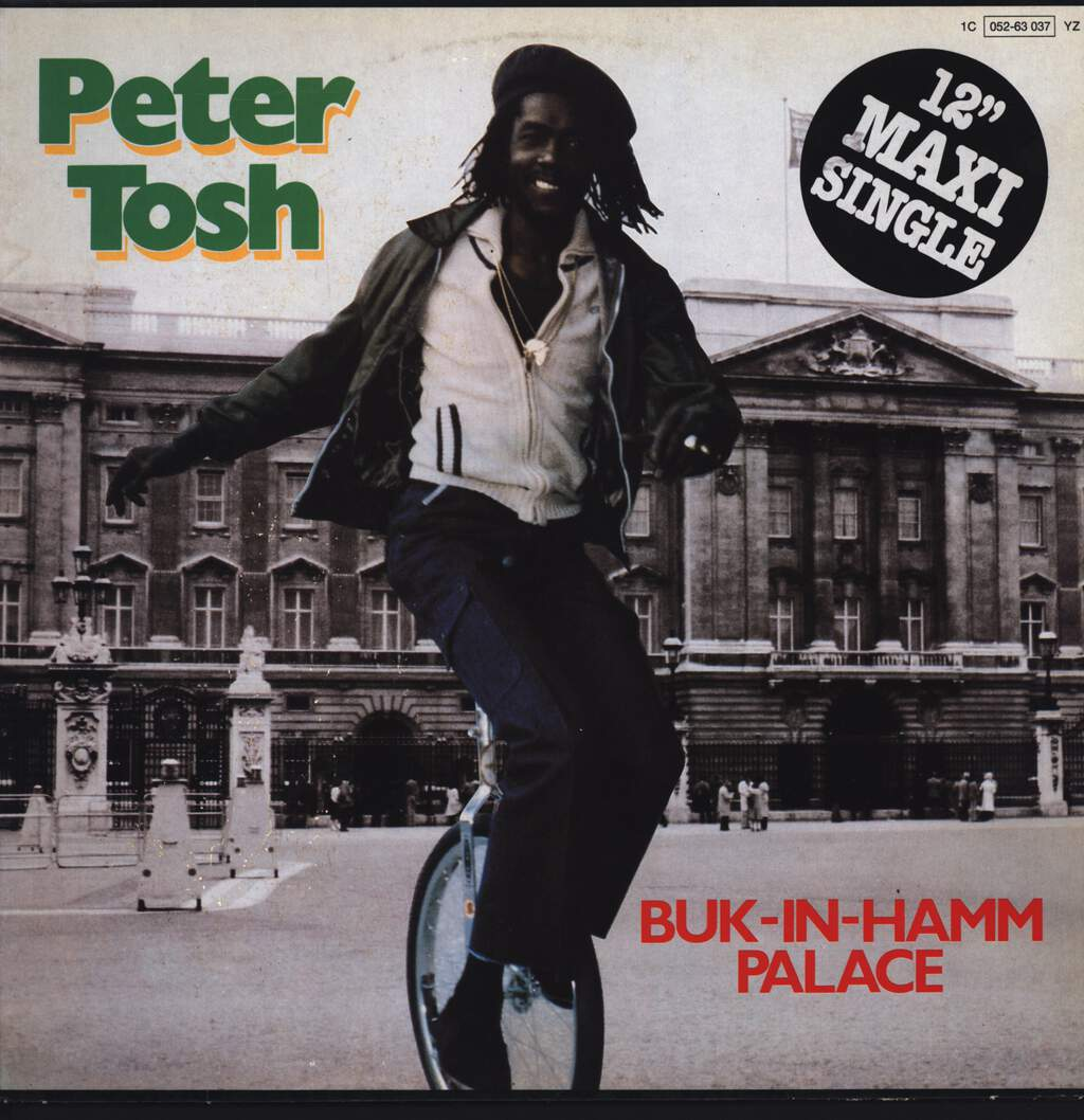 "Peter Tosh: Buk-In-Hamm Palace, 12"" Maxi Single (Vinyl)"