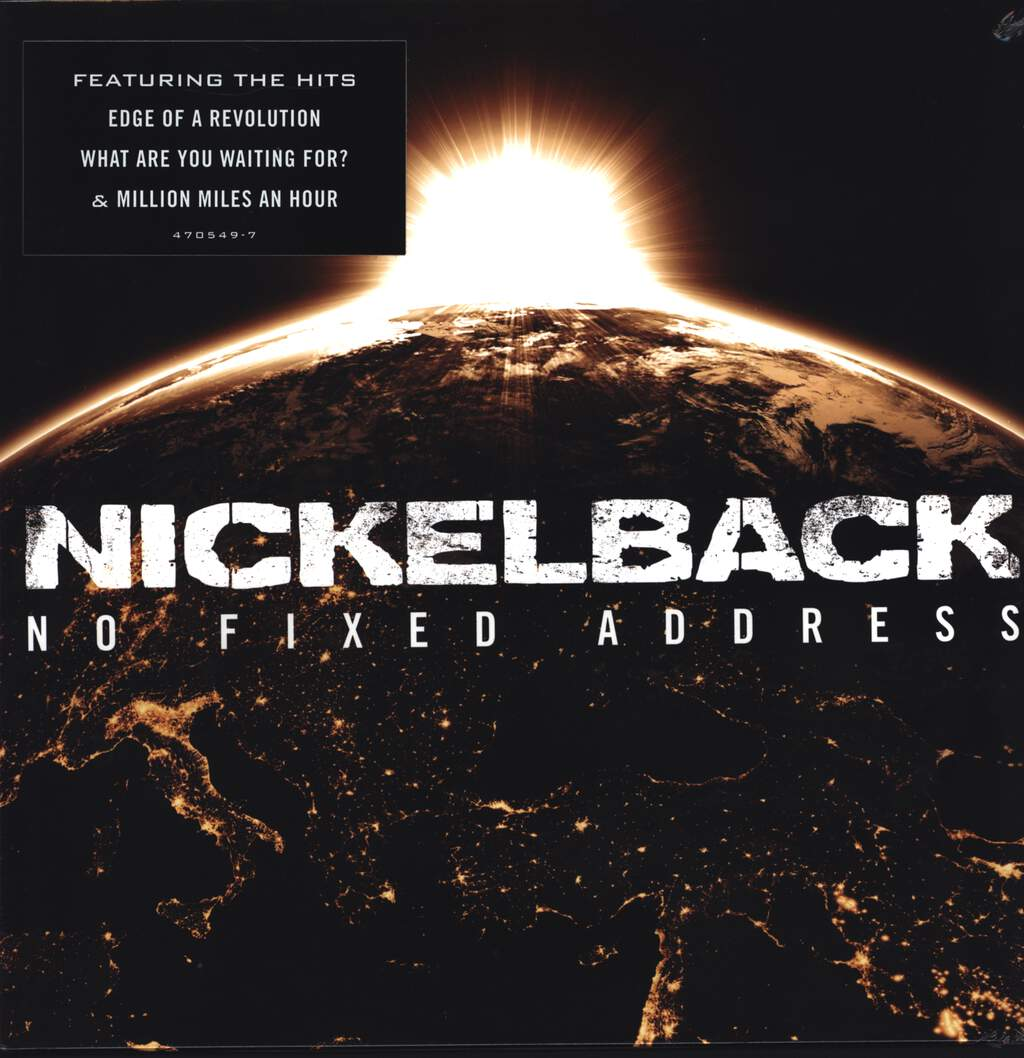 Nickelback: No Fixed Address, LP (Vinyl)