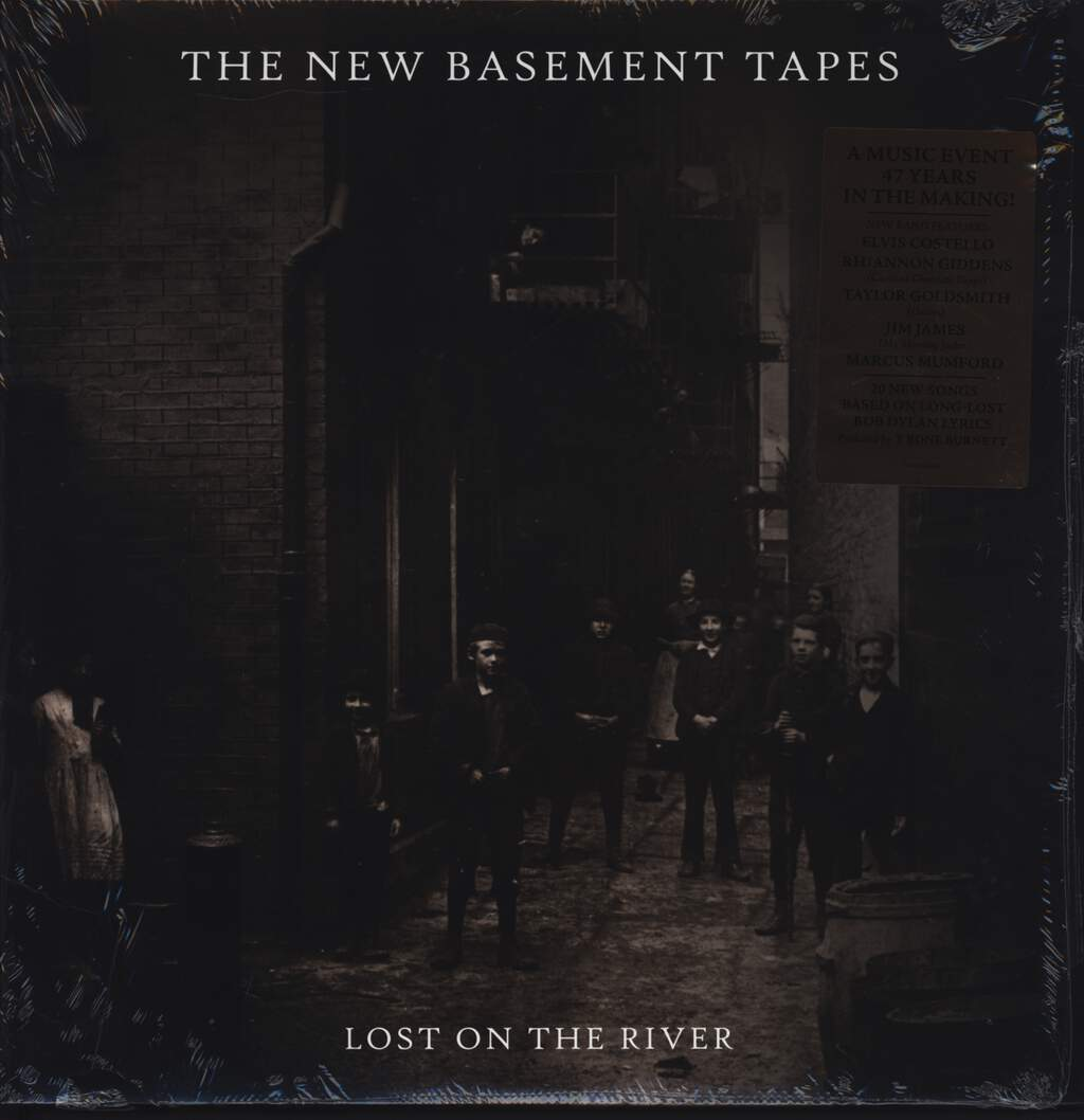The New Basement Tapes: Lost On The River, LP (Vinyl)