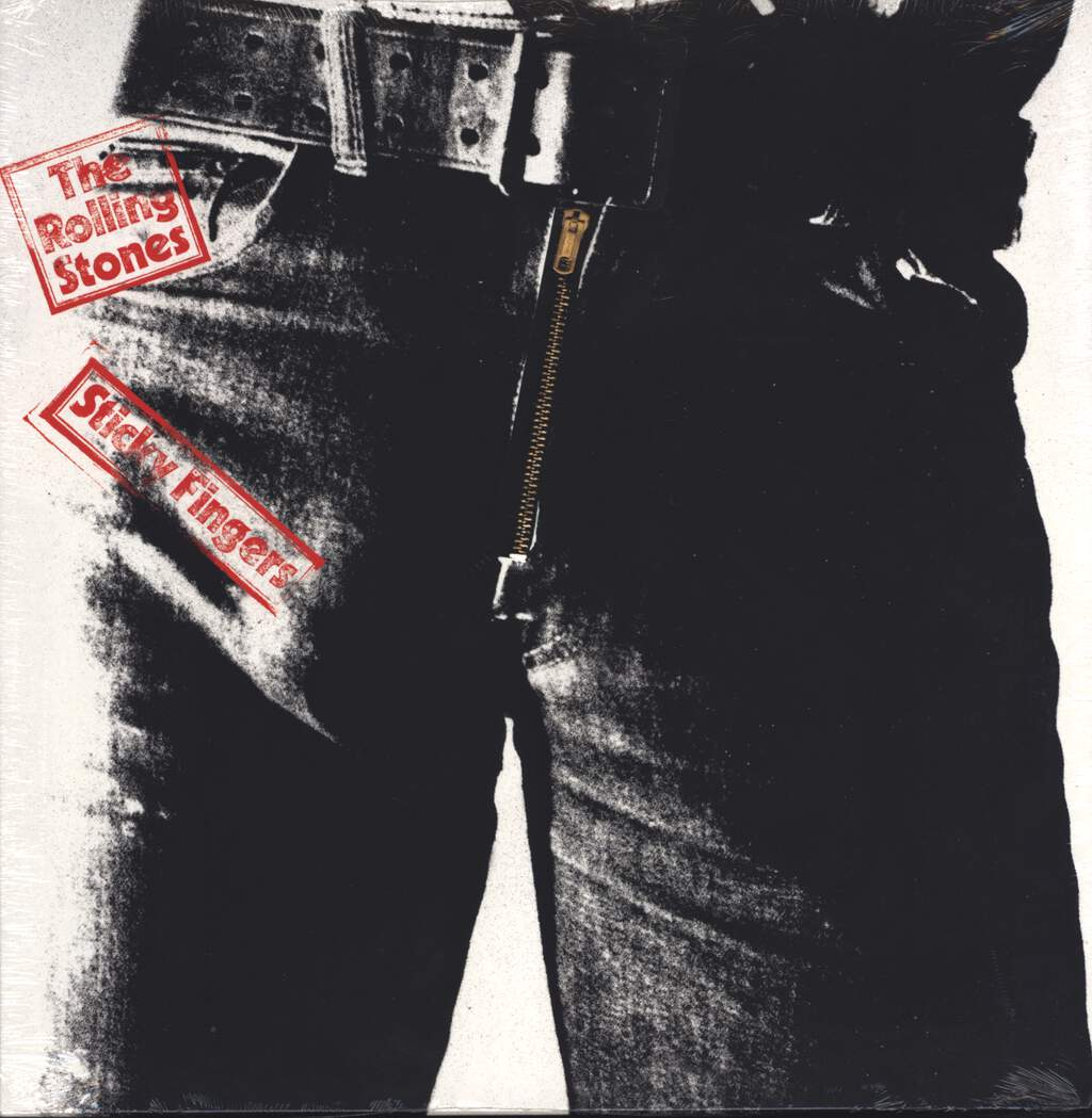 The Rolling Stones: Sticky Fingers, LP (Vinyl)
