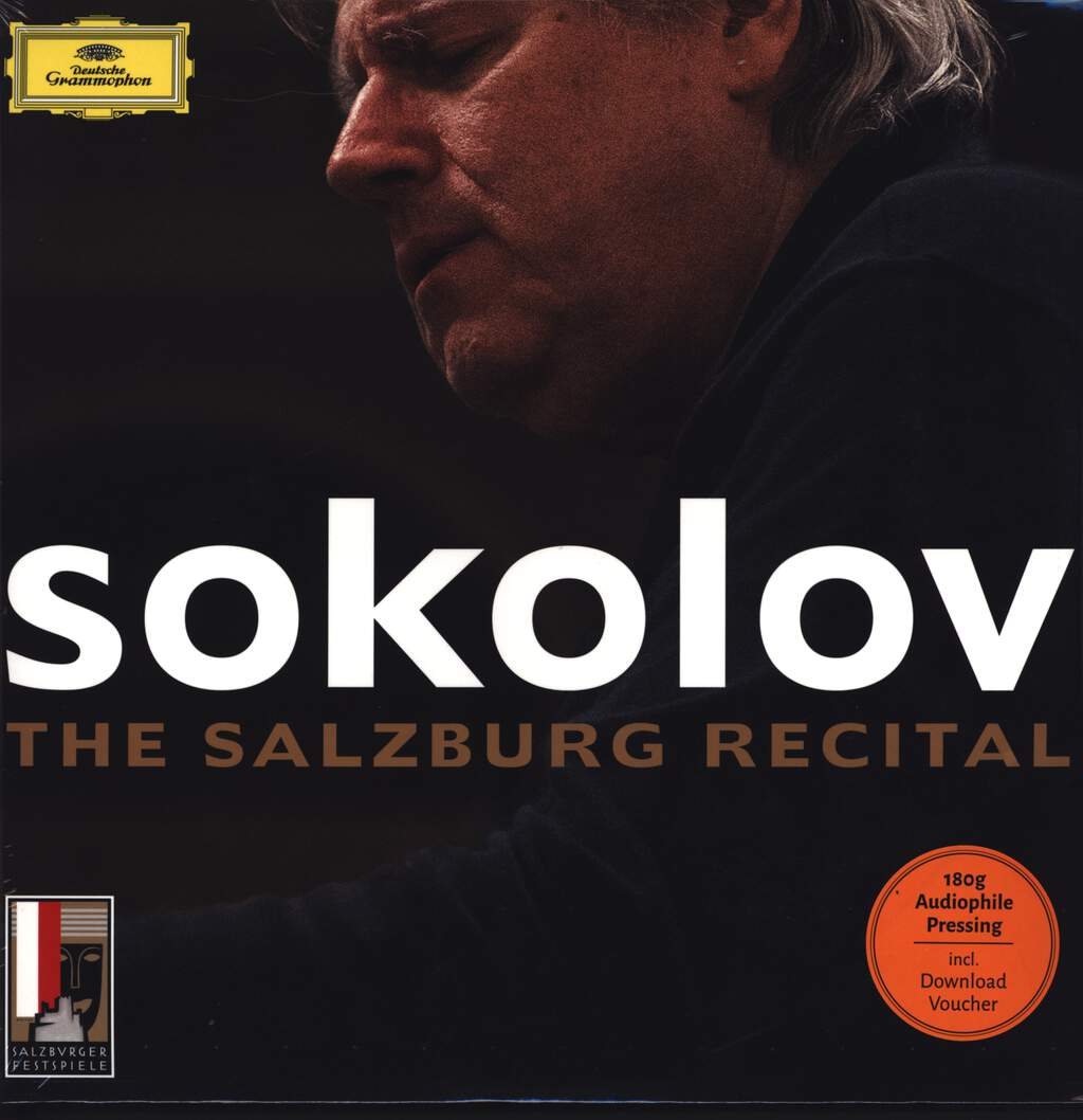 Grigory Sokolov: The Salzburg Recital, LP (Vinyl)