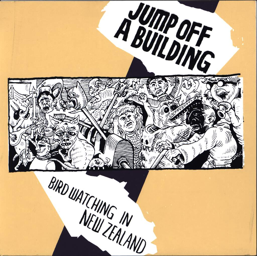 "Jump Off A Building: Bird Watching In New Zealand, 7"" Single (Vinyl)"