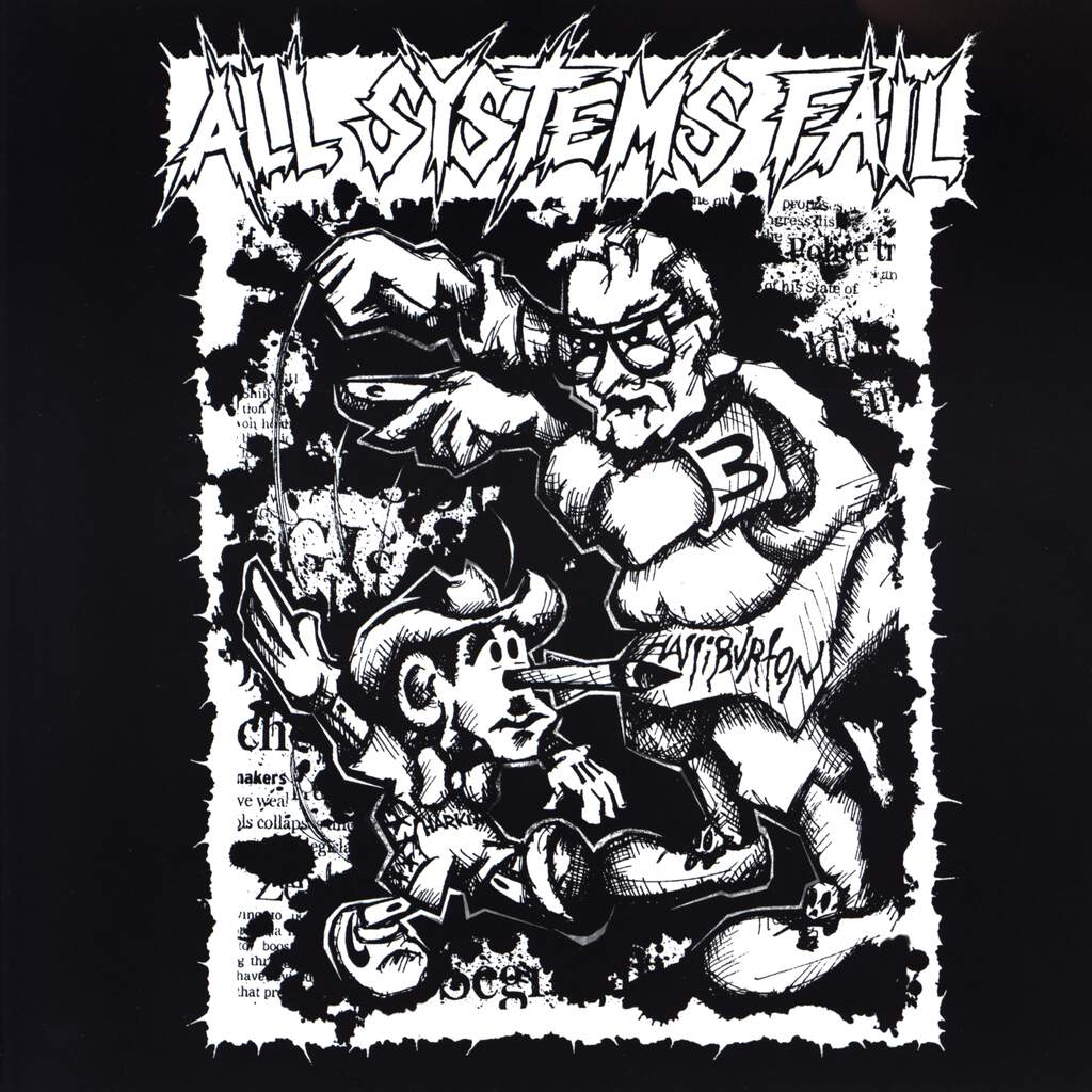 "All Systems Fail: All Systems Fail, 7"" Single (Vinyl)"