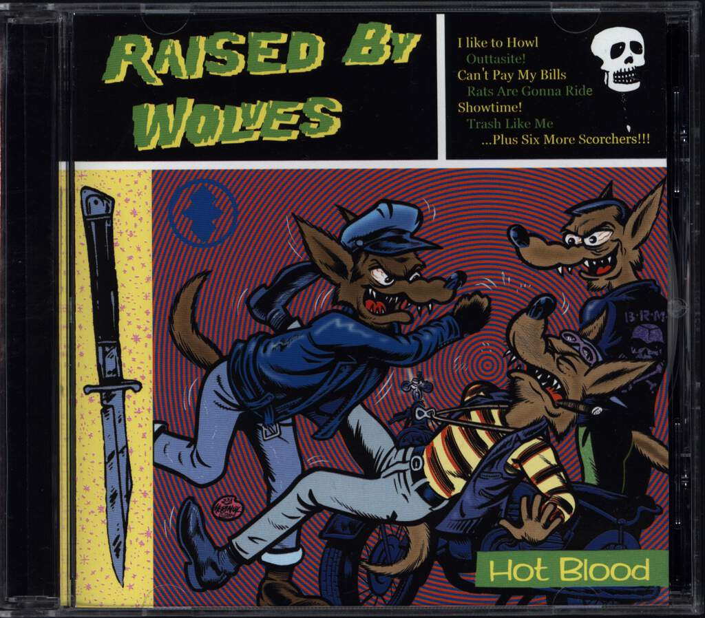 Raised By Wolves: Hot Blood, CD