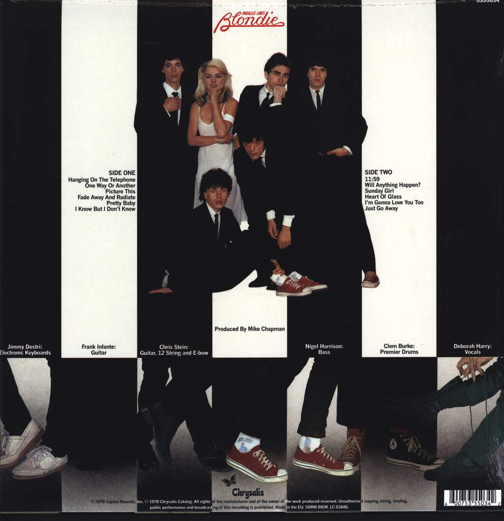 Blondie: Parallel Lines, LP (Vinyl)