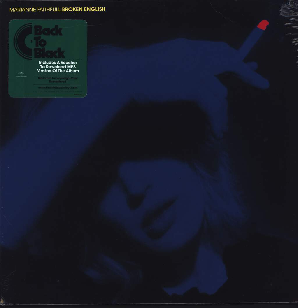 Marianne Faithfull: Broken English, LP (Vinyl)