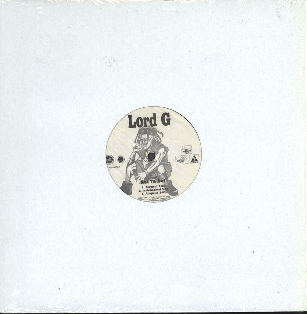 "Lord G: Hot Ta Def / Mic Cord, 12"" Maxi Single (Vinyl)"