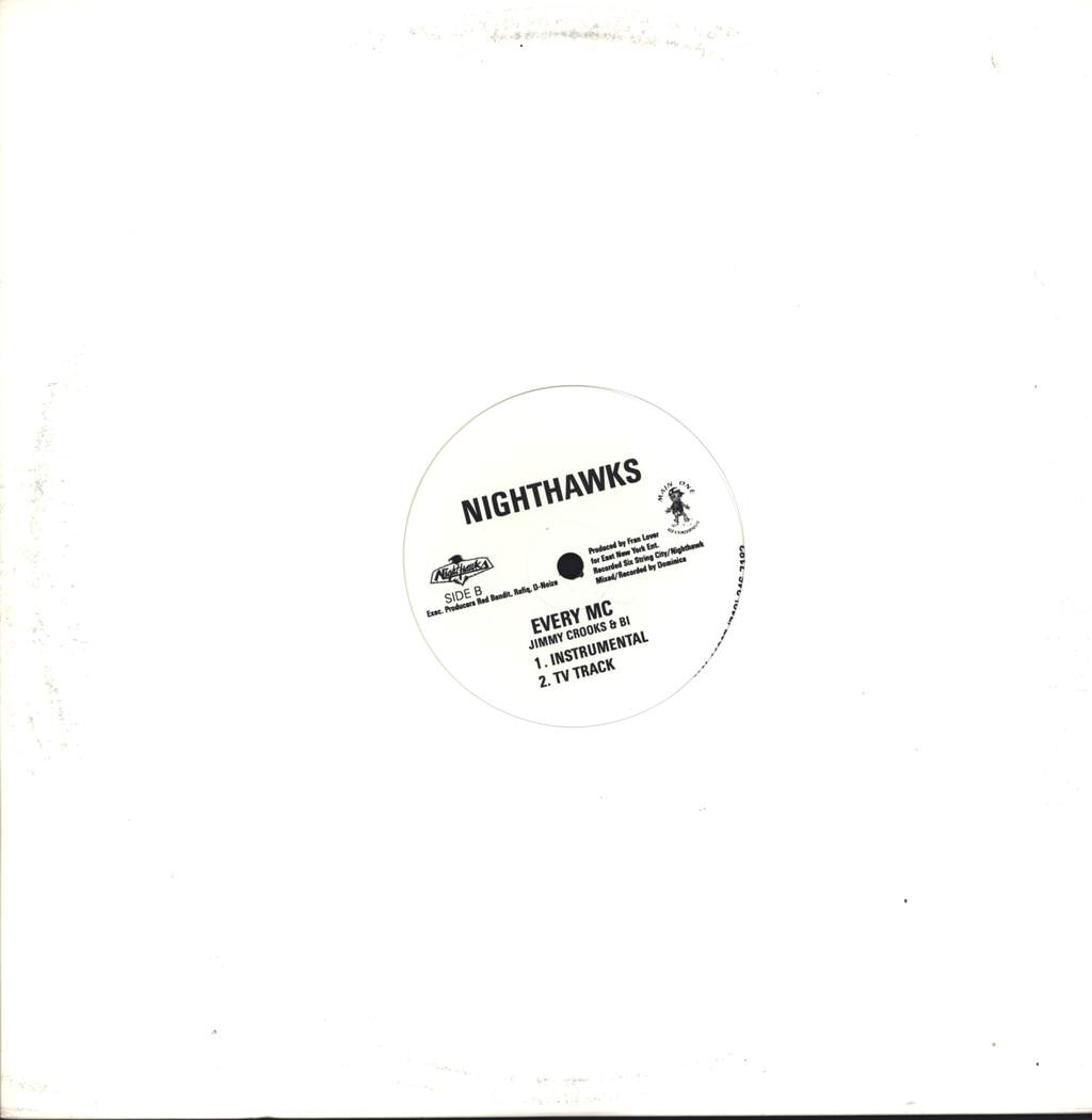 "Nighthawks: Every MC, 12"" Maxi Single (Vinyl)"