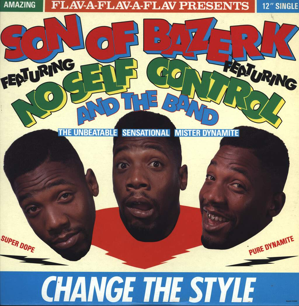 "Son Of Bazerk: Change The Style, 12"" Maxi Single (Vinyl)"