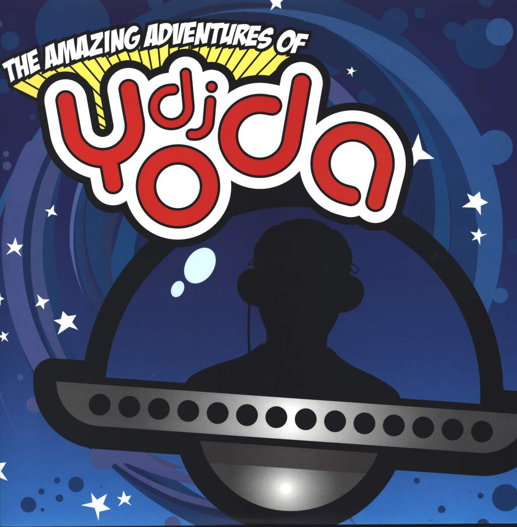 DJ Yoda: The Amazing Adventures Of DJ Yoda, LP (Vinyl)