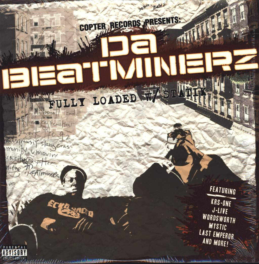Da Beatminerz: Fully Loaded w/ Statik, LP (Vinyl)