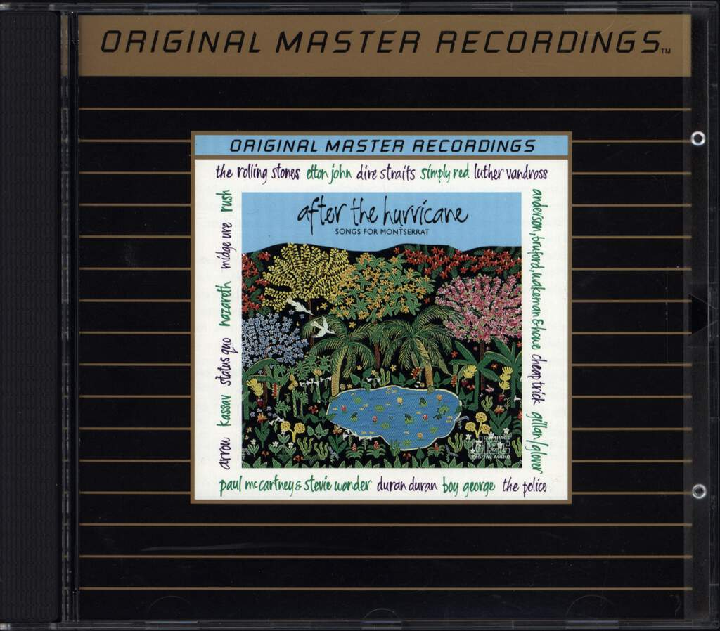 Various: After The Hurricane - Songs For Montserrat, CD