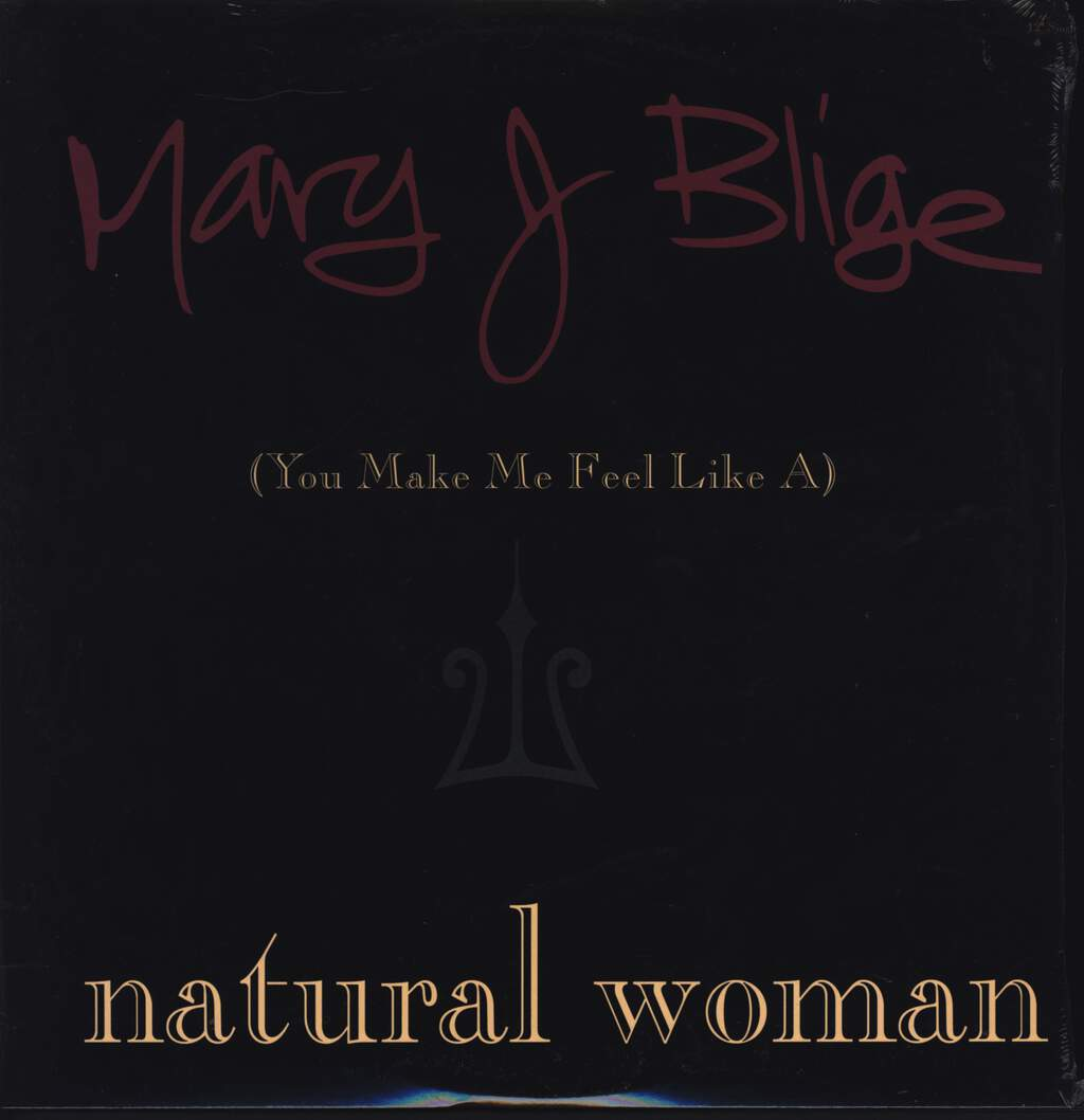 "Mary J. Blige: (You Make Me Feel Like A) Natural Woman, 12"" Maxi Single (Vinyl)"