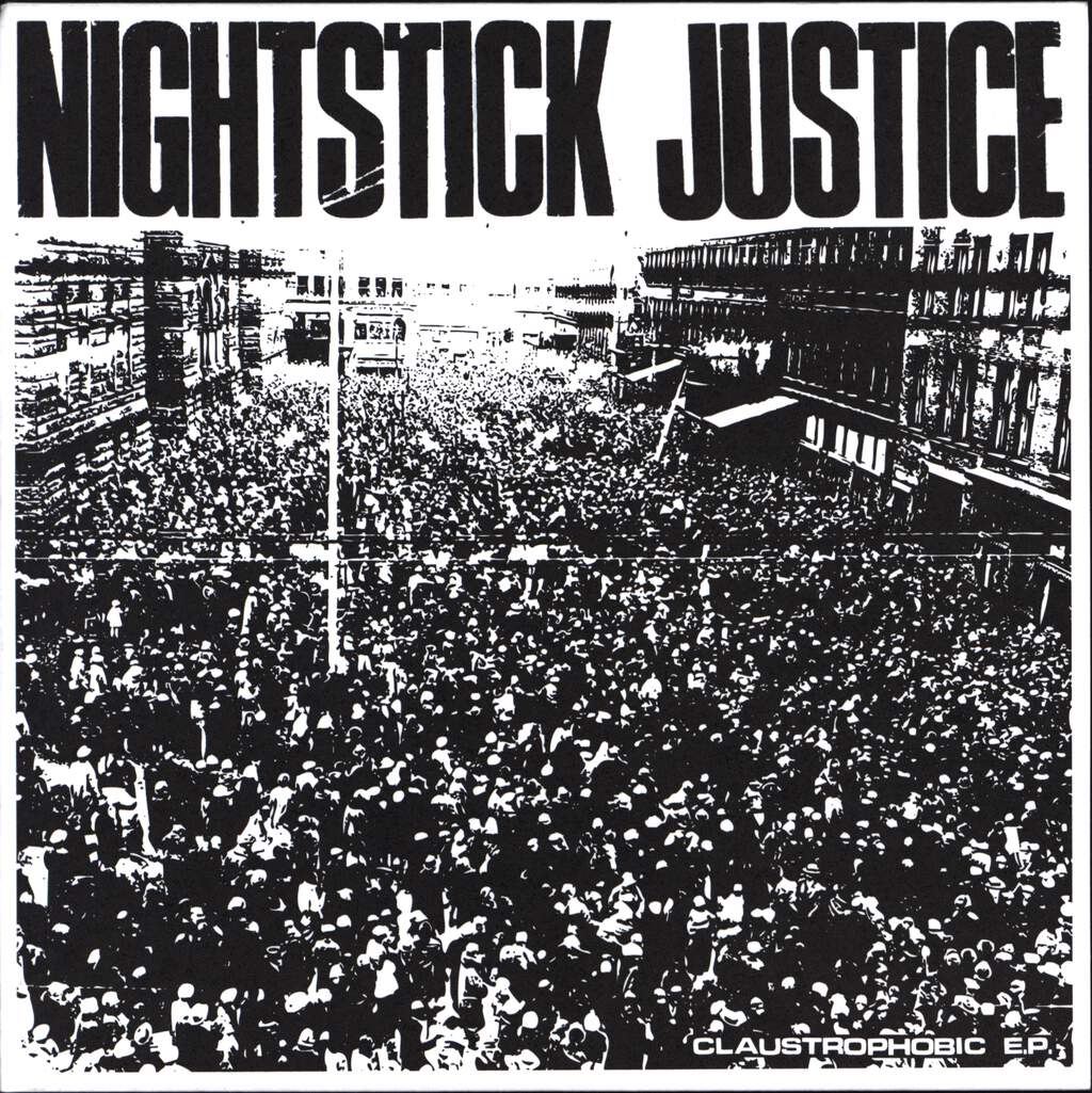 "Nightstick Justice: Claustrophobic E.P., 7"" Single (Vinyl)"