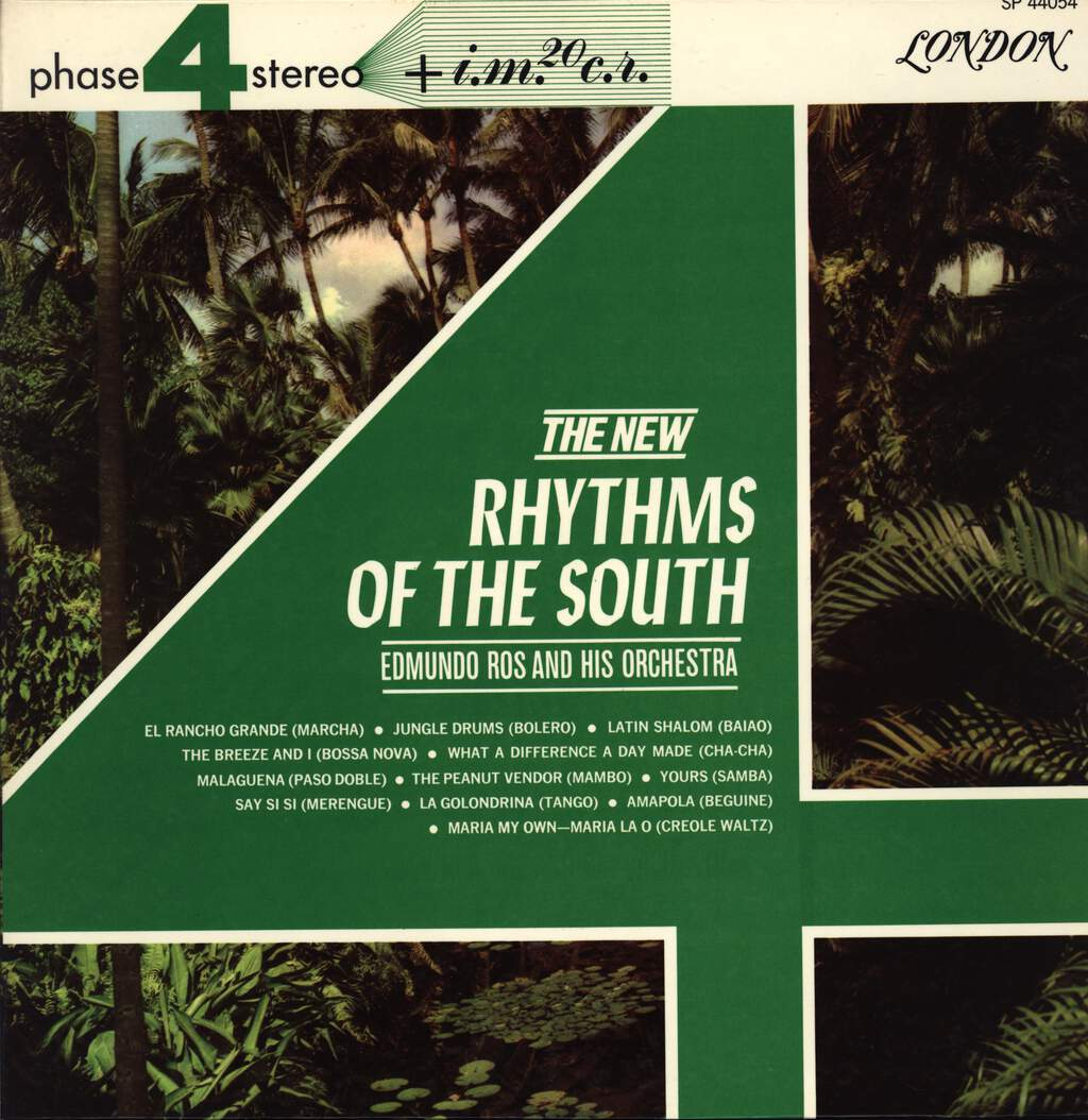 Edmundo Ros & His Orchestra: New Rhythms Of The South, LP (Vinyl)