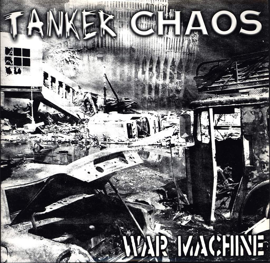 "Tanker Chaos: War Machine, 10"" Vinyl EP"