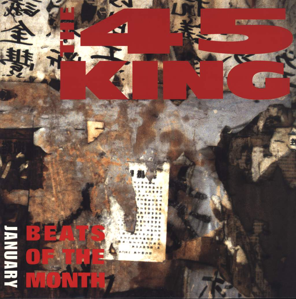 The 45 King: Beats Of The Month January, LP (Vinyl)