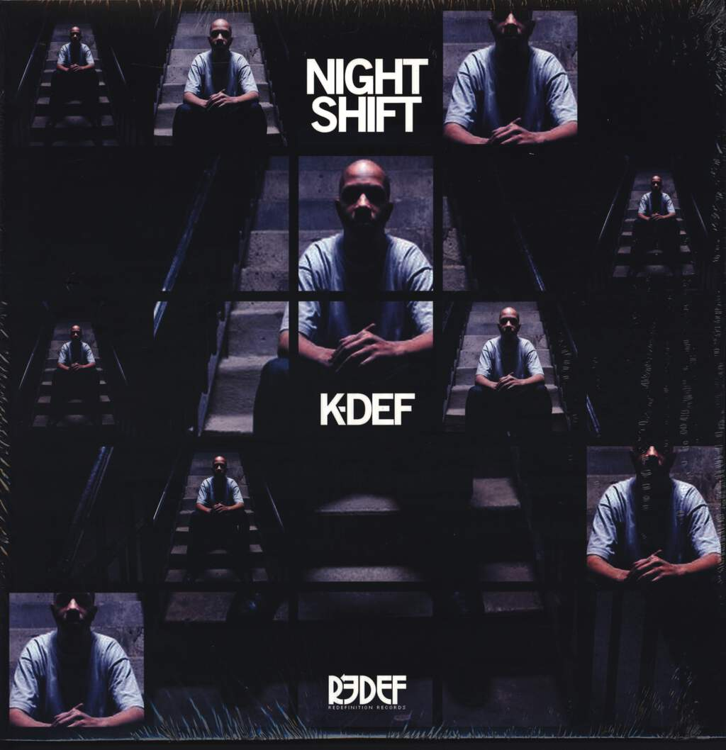 "K-Def: Night Shift, 12"" Maxi Single (Vinyl)"