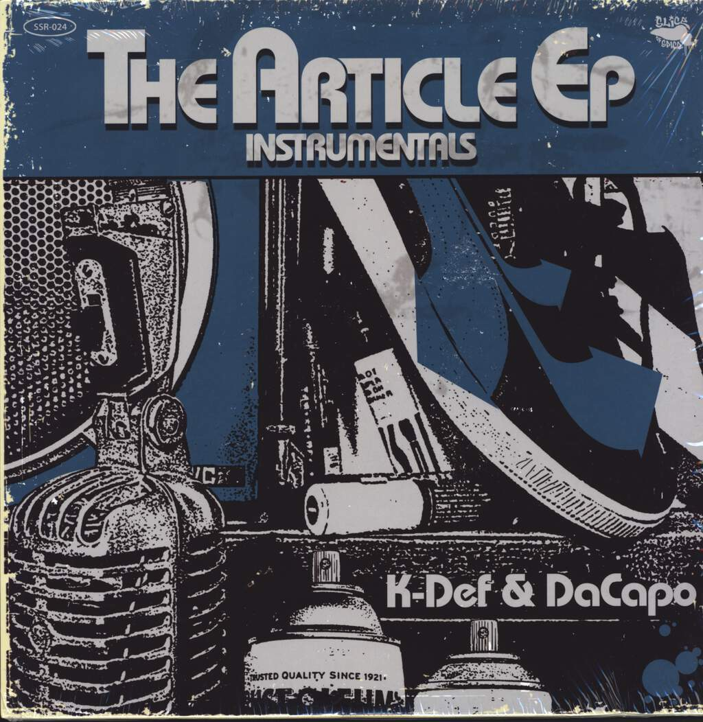 "K-Def: The Article EP Instrumentals, 12"" Maxi Single (Vinyl)"