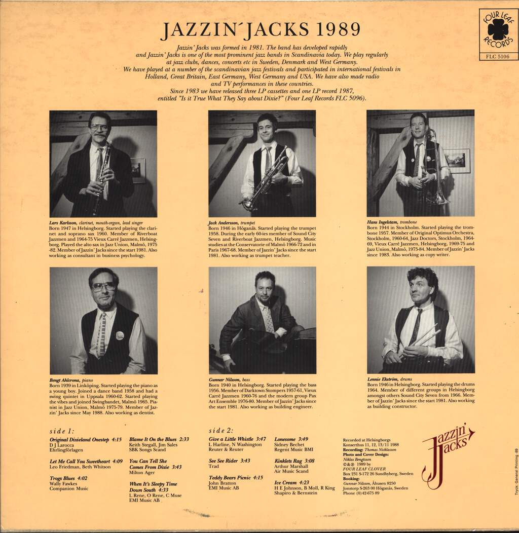 Jazzin' Jacks: Eighty Nine, LP (Vinyl)