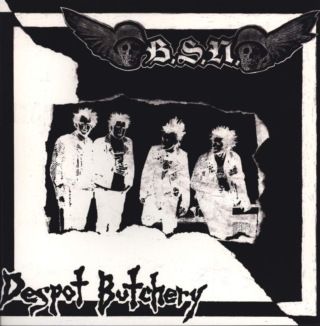 Blood Spit Nights: Despot Butchery, Mini LP (Vinyl)