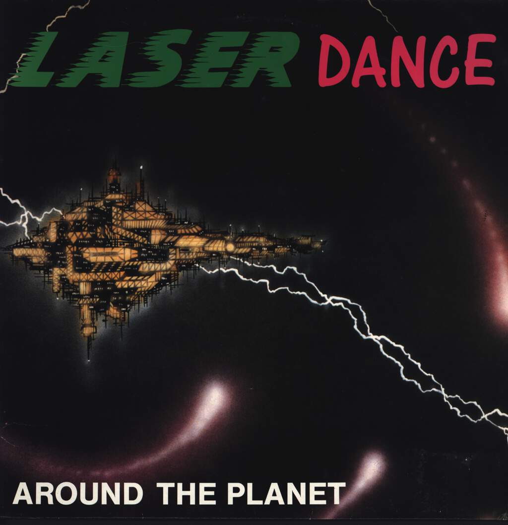 Laserdance: Around The Planet, LP (Vinyl)