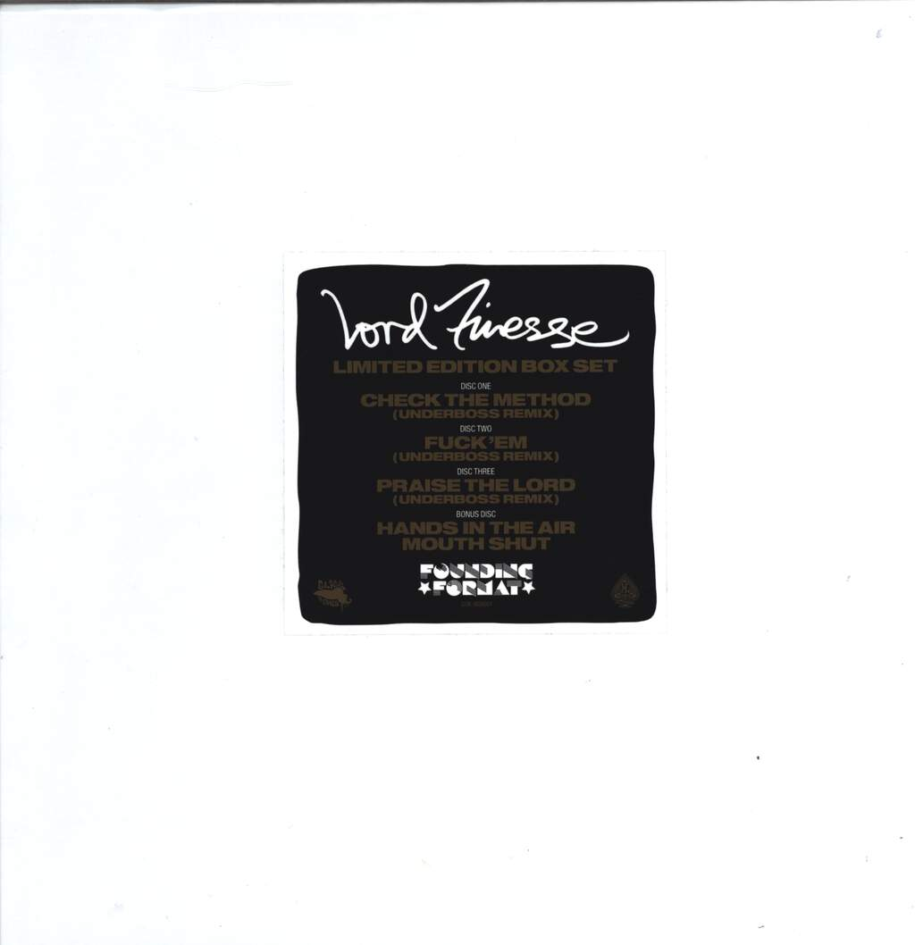 "Lord Finesse: Limited Edition Box Set, 12"" Maxi Single (Vinyl)"