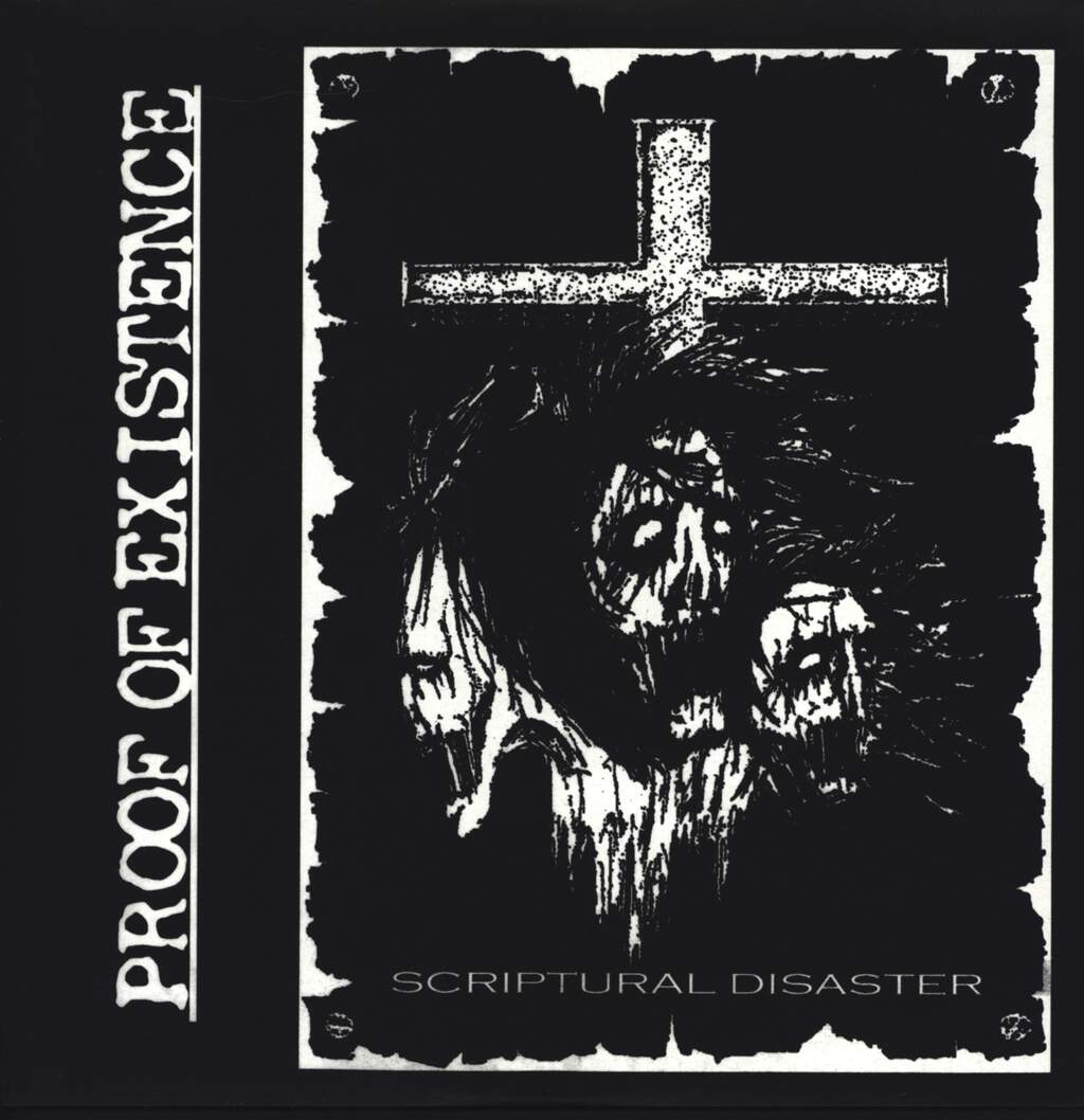 "Proof Of Existence: Scriptural Disaster, 12"" Maxi Single (Vinyl)"
