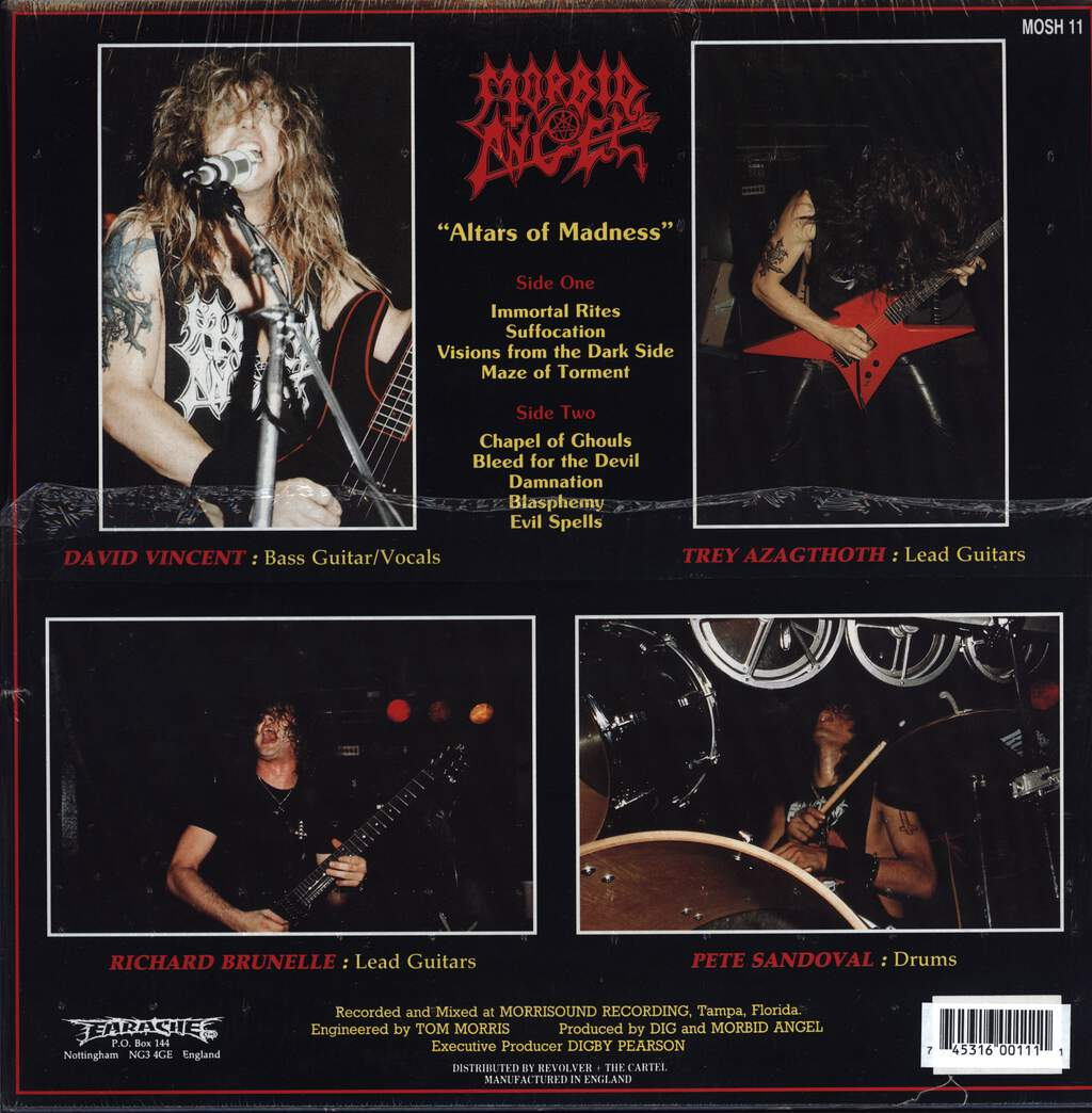 Morbid Angel: Altars Of Madness, LP (Vinyl)