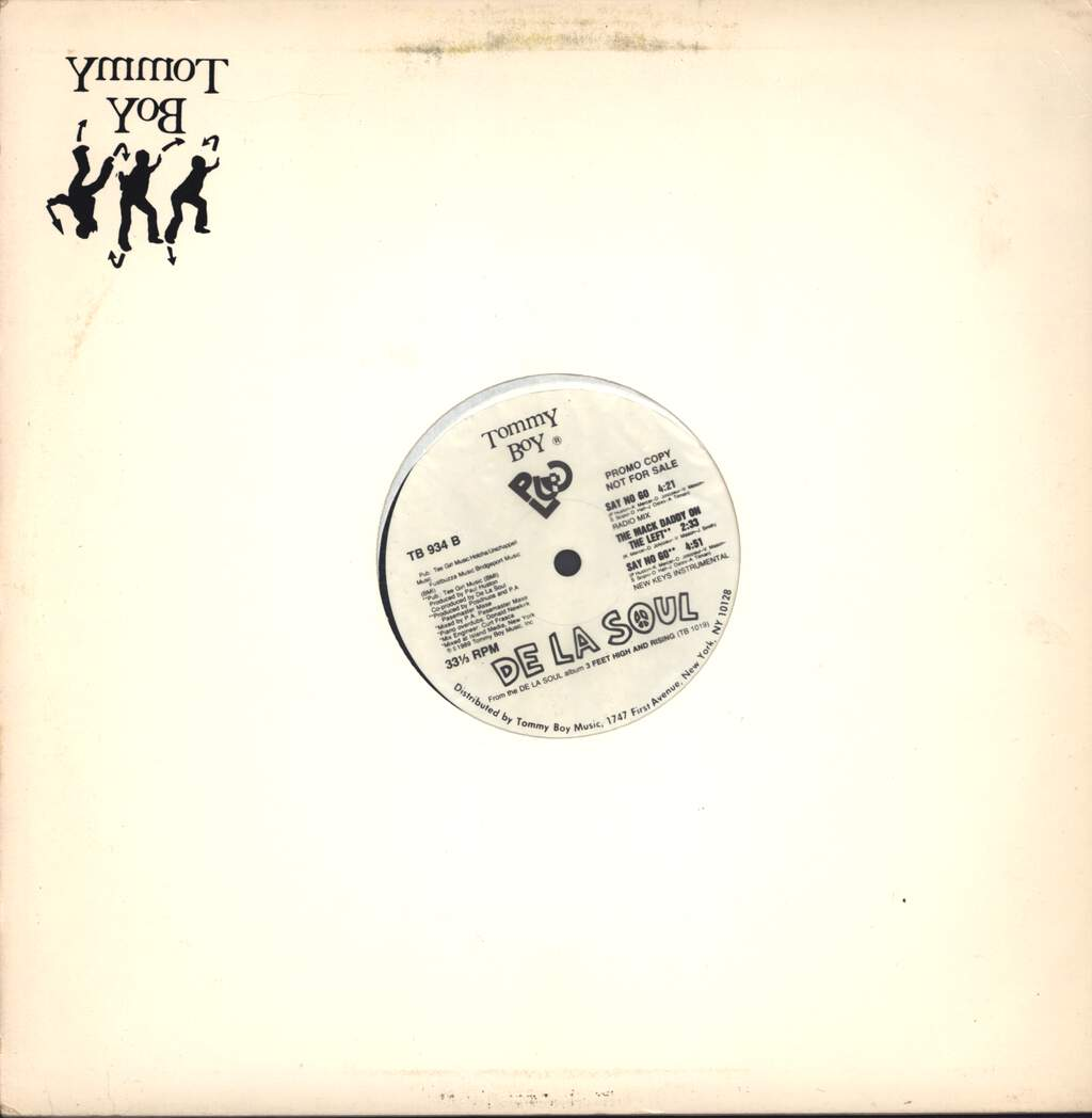 "De La Soul: Say No Go, 12"" Maxi Single (Vinyl)"
