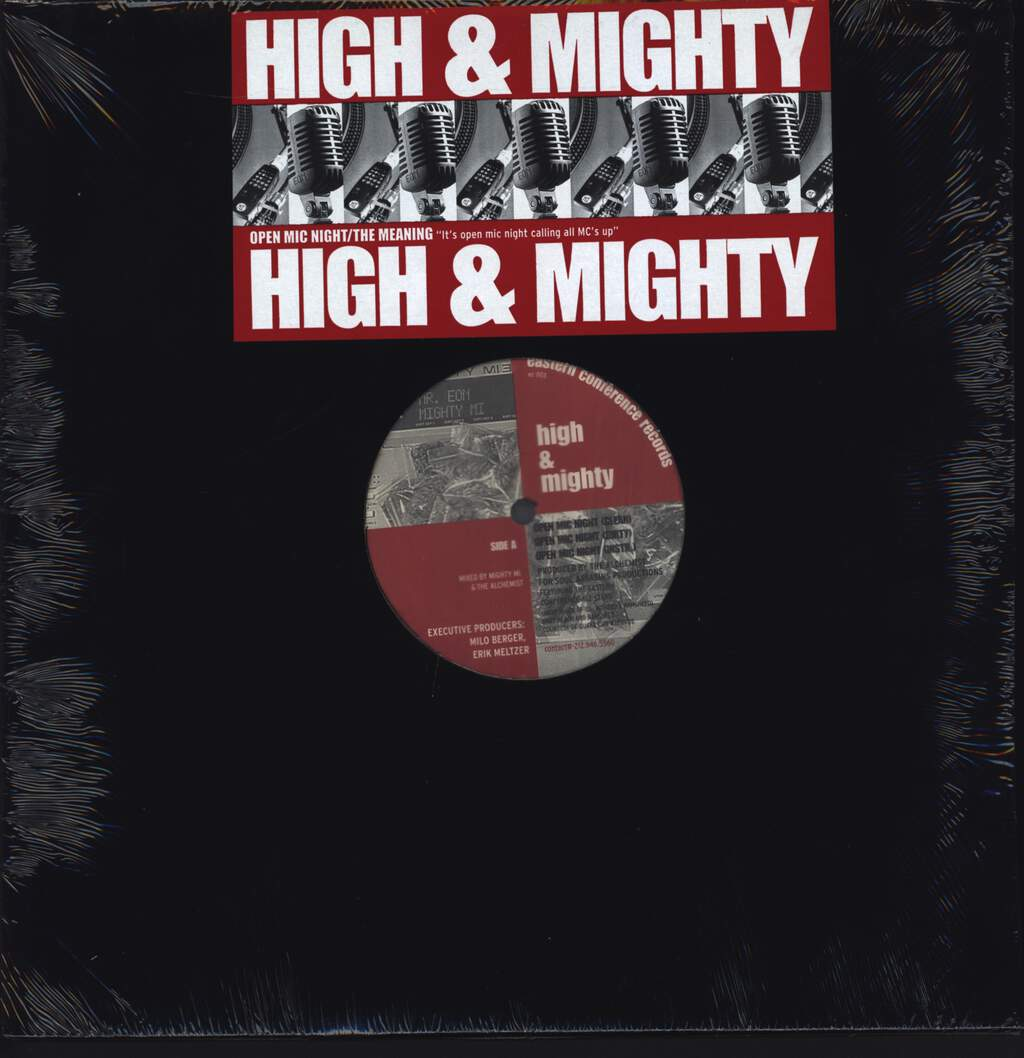 "The High & Mighty: Open Mic Night / The Meaning, 12"" Maxi Single (Vinyl)"