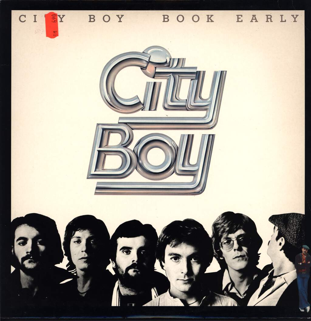 City Boy: Book Early, LP (Vinyl)