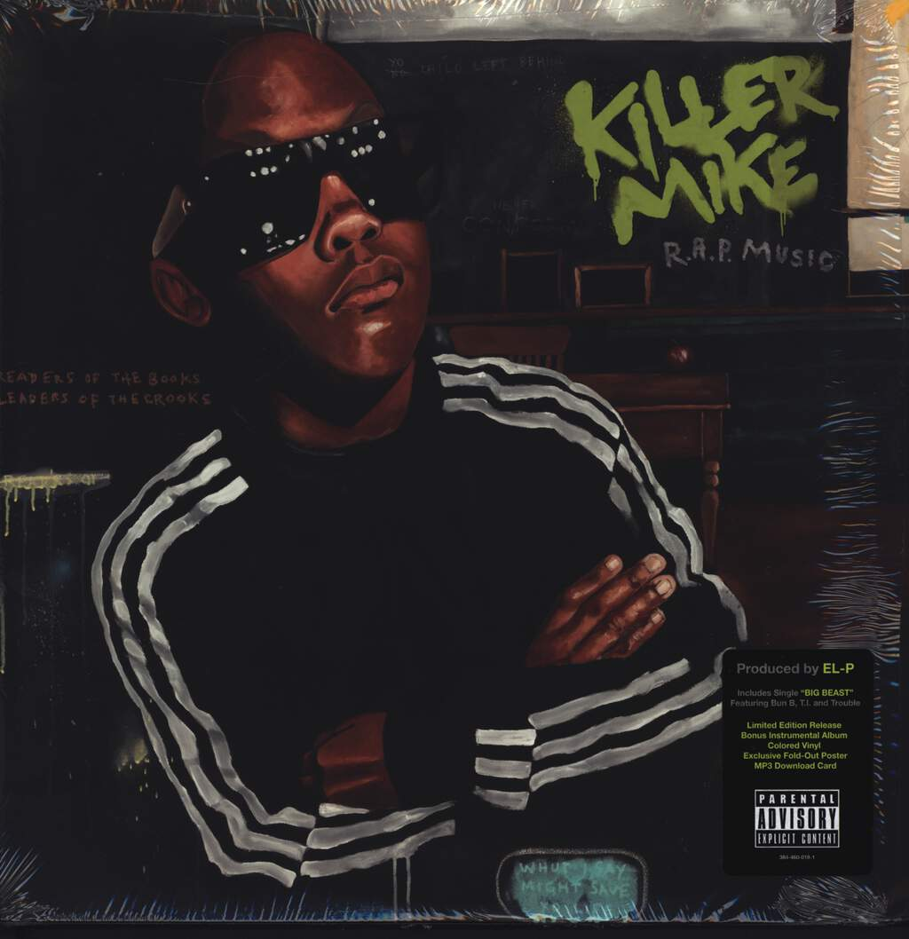 Killer Mike: R.A.P. Music, LP (Vinyl)