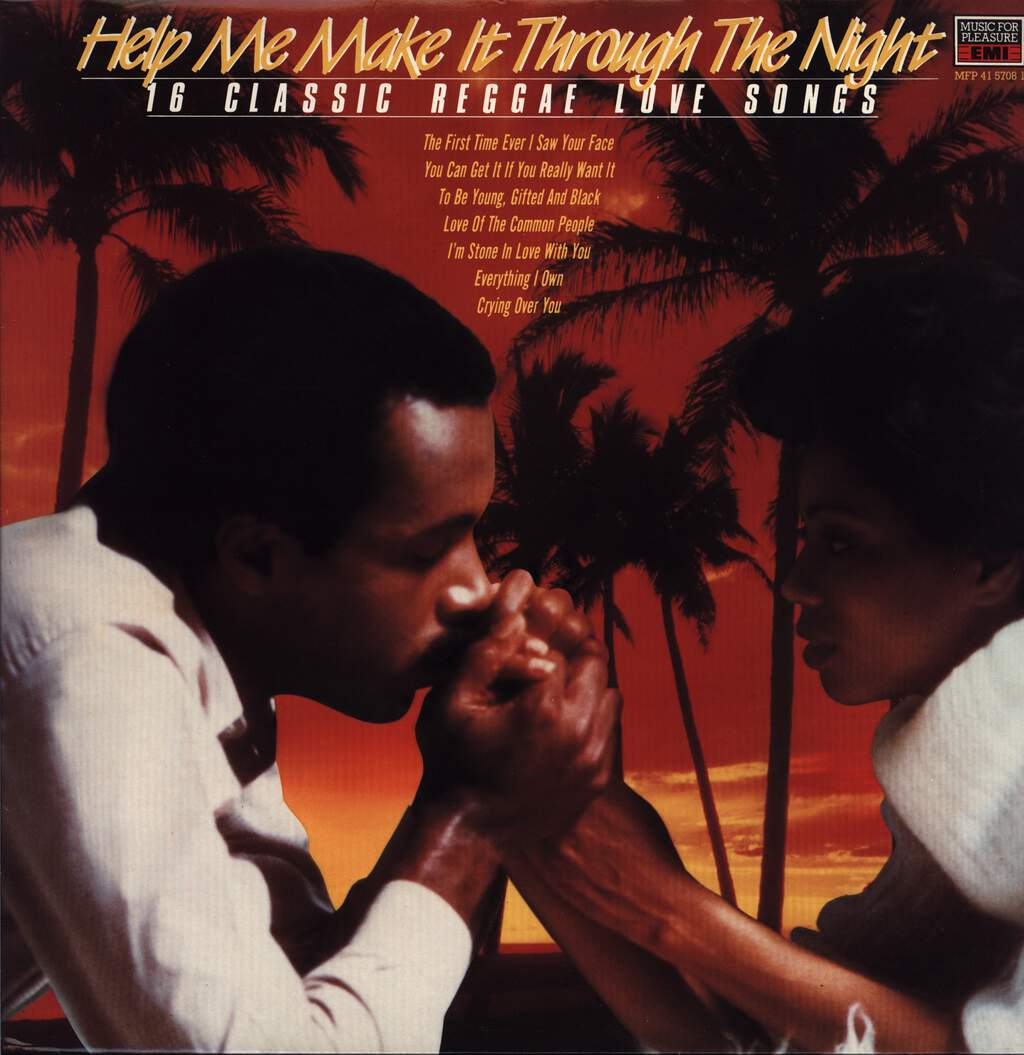 Various: Help Me Make It Through The Night - 16 Classic Reggae Lovesongs, LP (Vinyl)