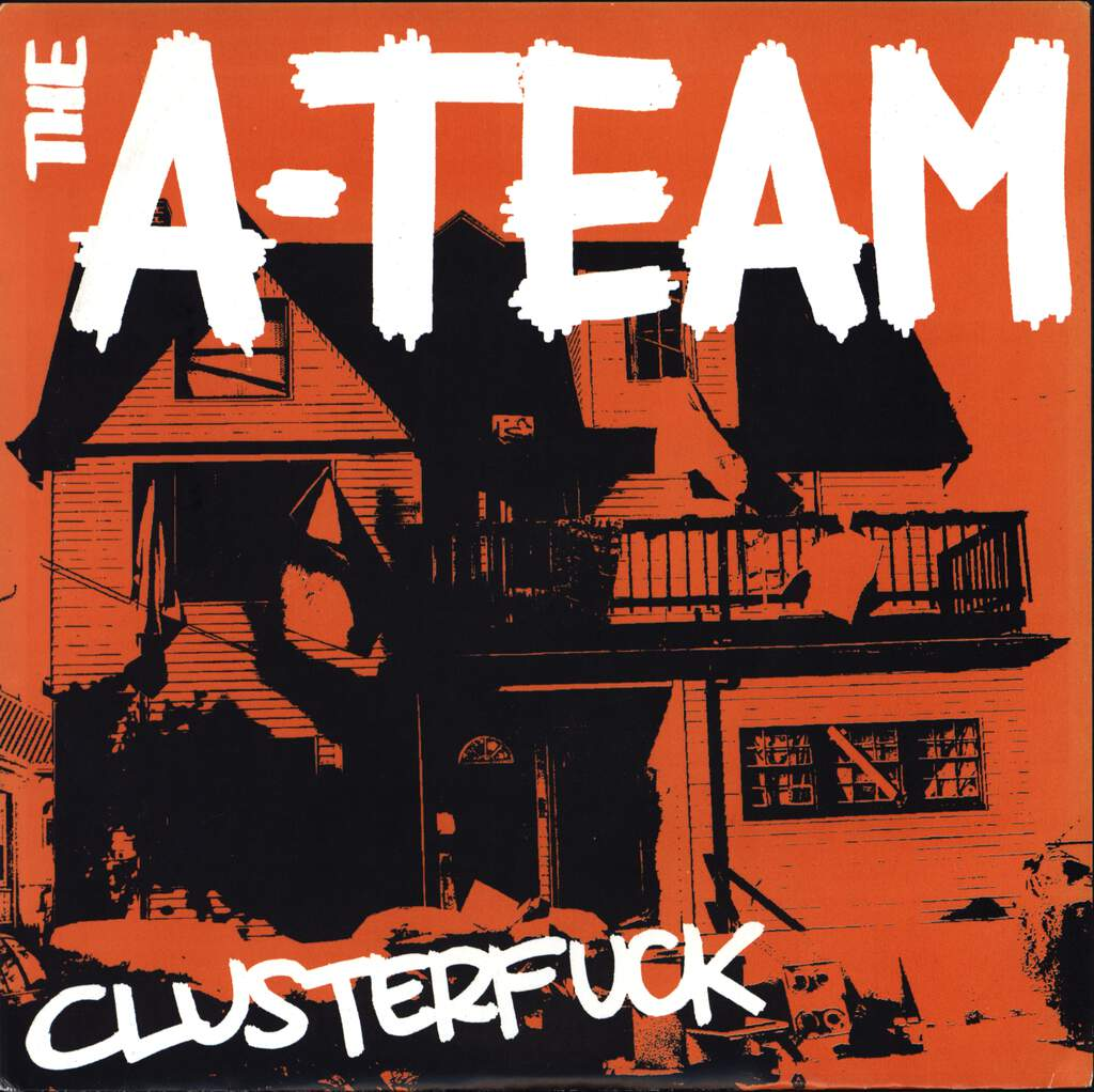 "The A-Team: Clusterfuck, 7"" Single (Vinyl)"