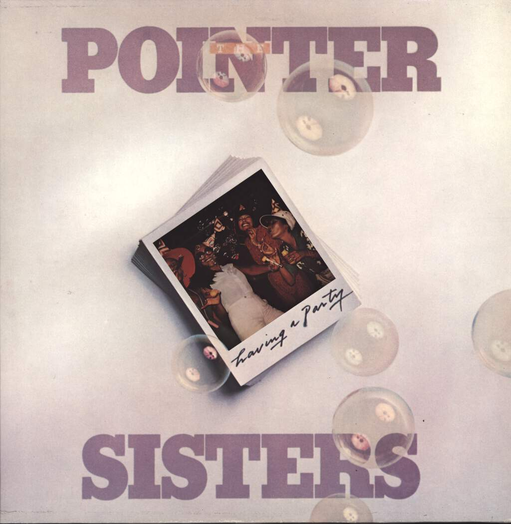 Pointer Sisters: Having A Party, LP (Vinyl)