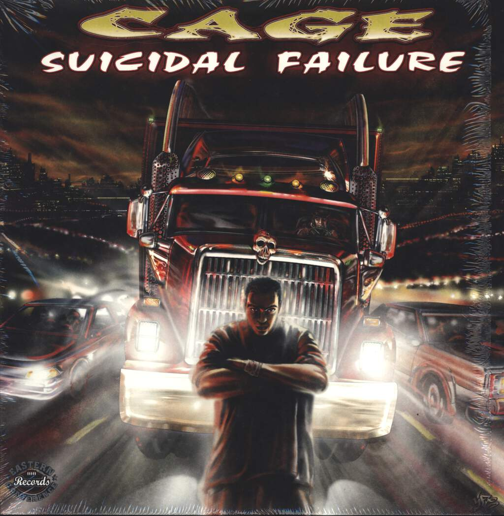 "Cage: Suicidal Failure, 12"" Maxi Single (Vinyl)"
