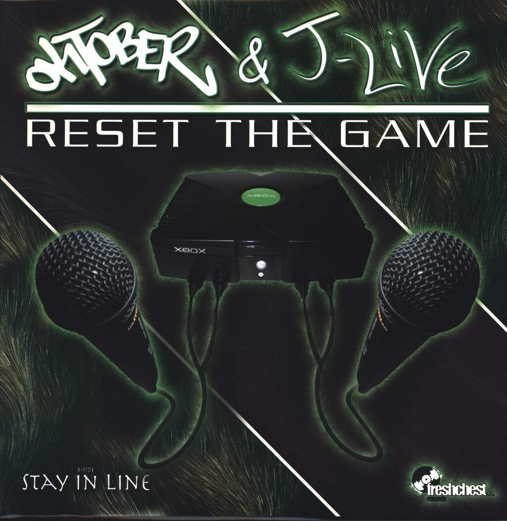 "Oktober: Reset The Game, 12"" Maxi Single (Vinyl)"