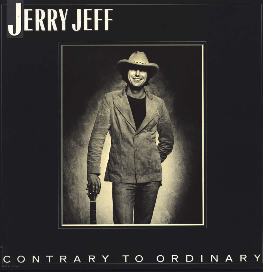 Jerry Jeff Walker: Contrary To Ordinary, LP (Vinyl)