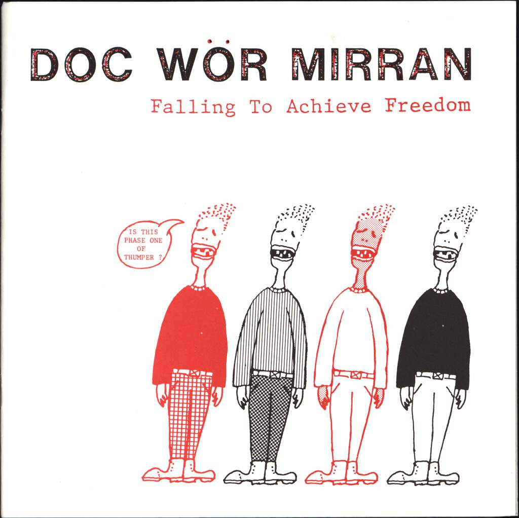 "Doc Wör Mirran: Falling To Achieve Freedom, 7"" Single (Vinyl)"