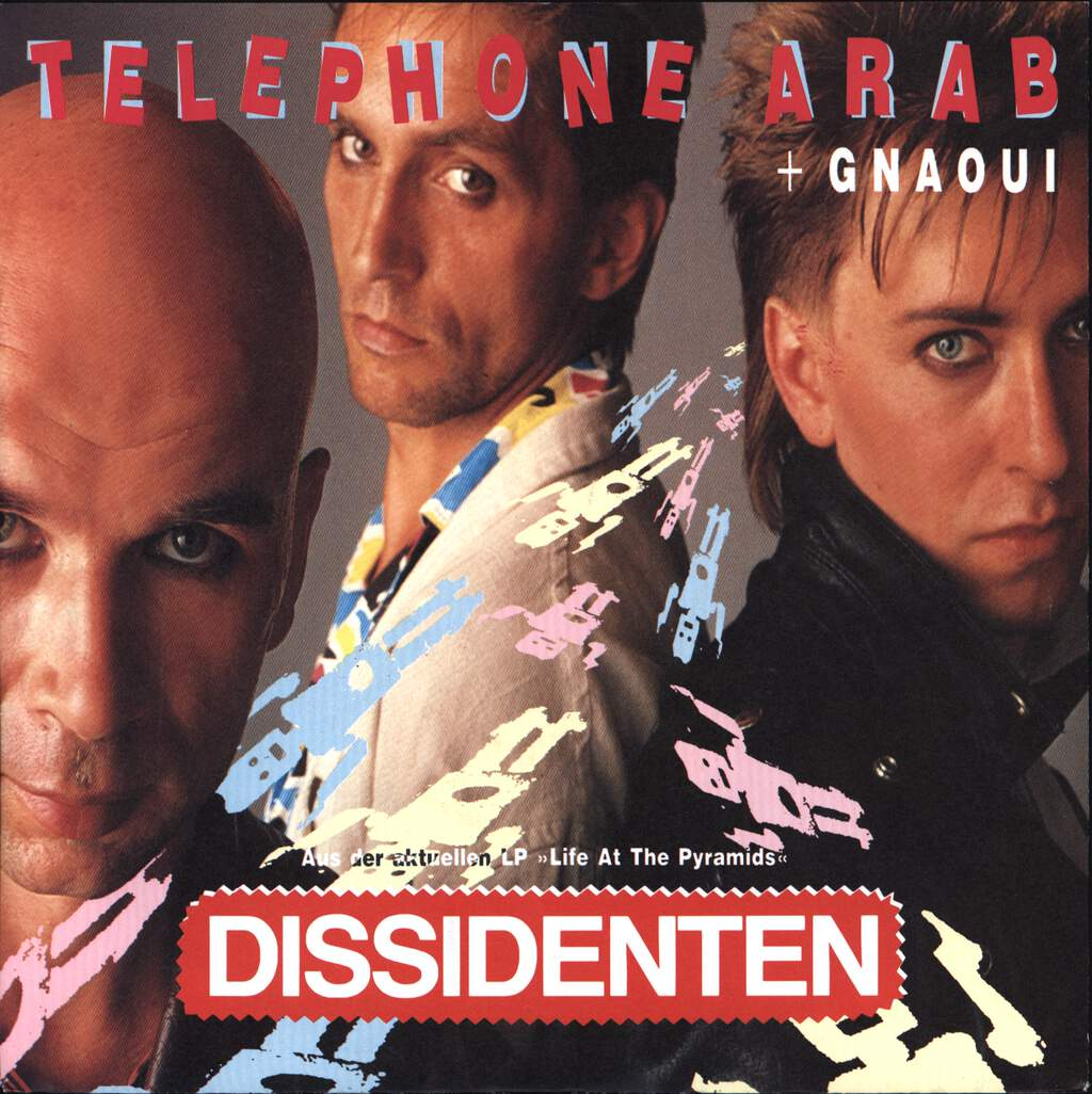 "Dissidenten: Telephone Arab / Gnaoui, 7"" Single (Vinyl)"