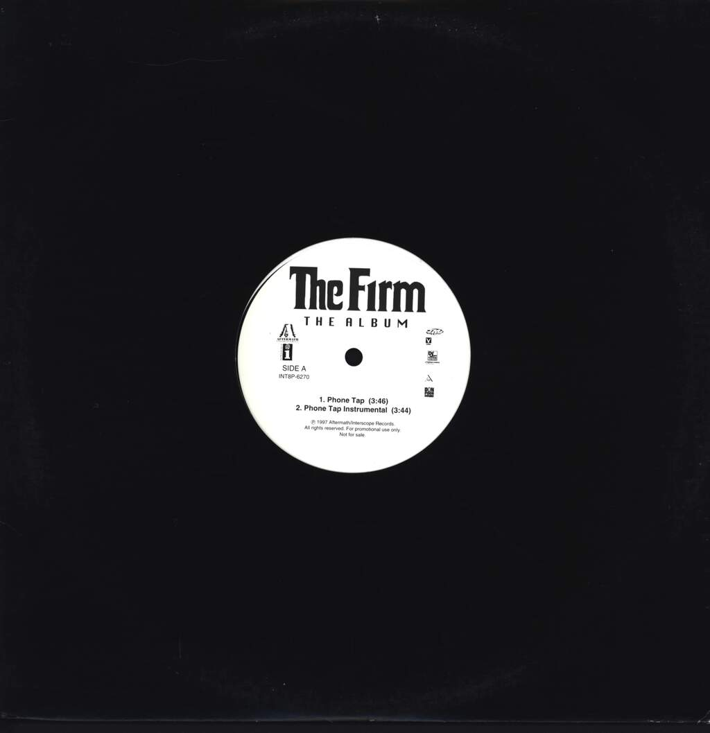 "The Firm: Phone Tap / Five Minutes To Flush, 12"" Maxi Single (Vinyl)"