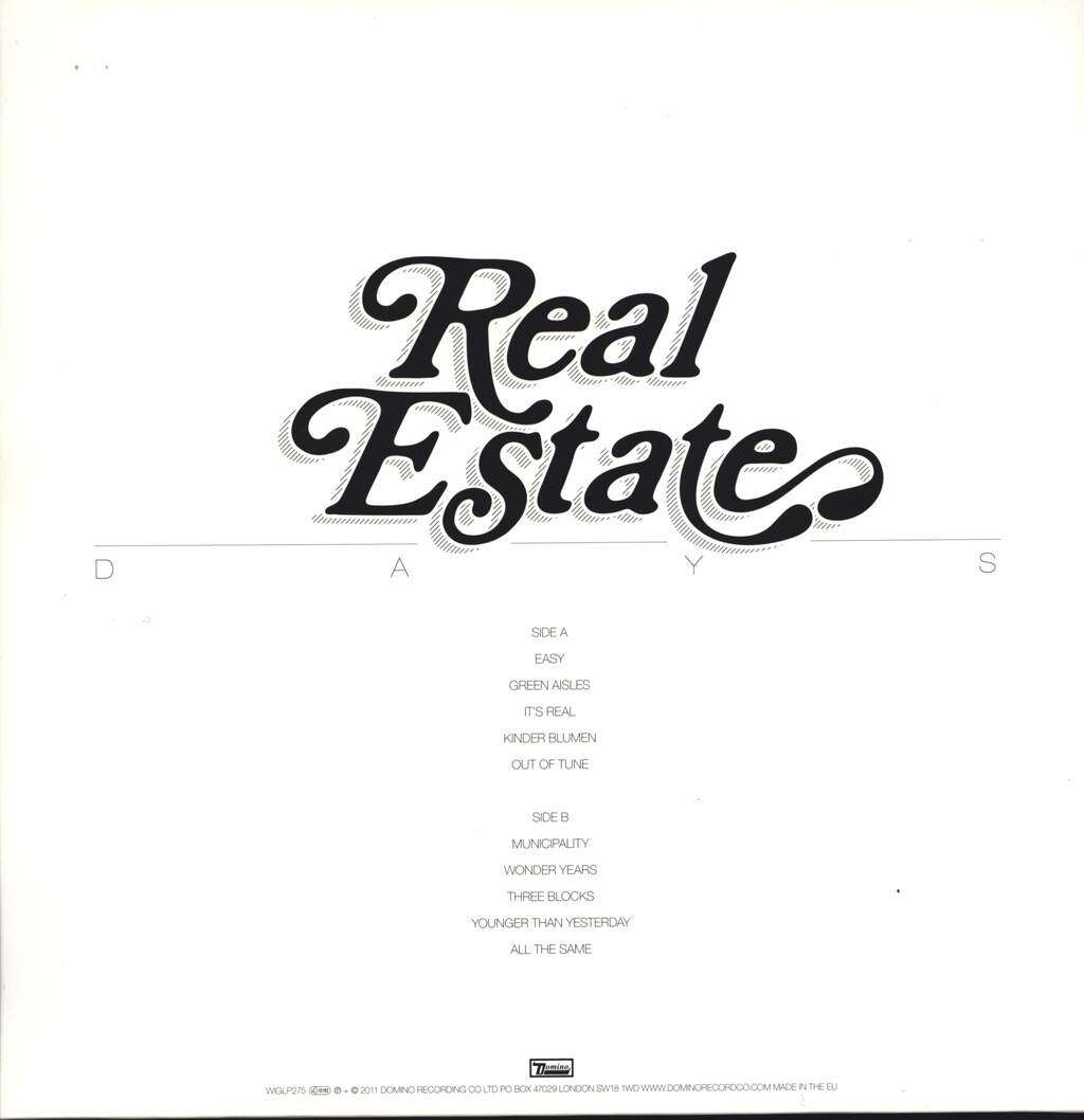 Real Estate: Days, LP (Vinyl)