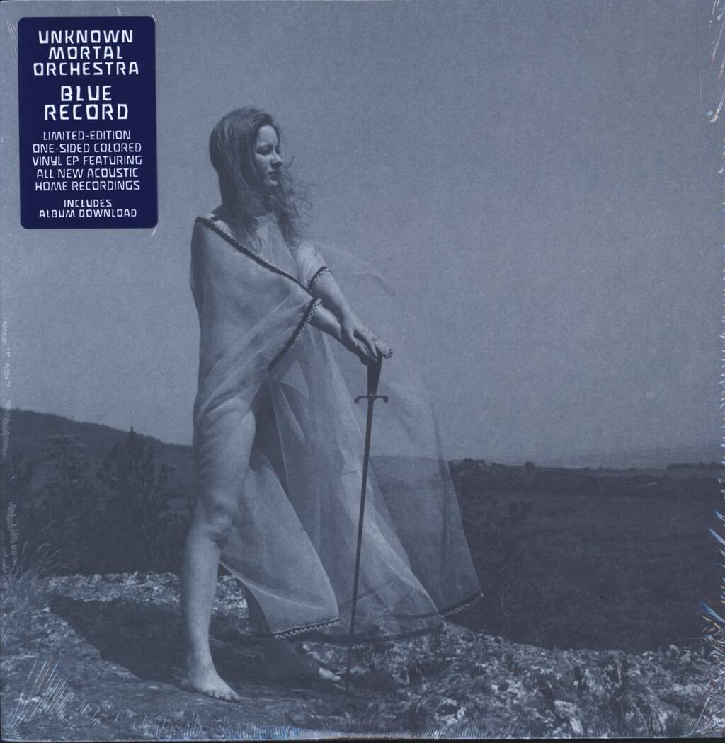 "Unknown Mortal Orchestra: Blue Record, 12"" Maxi Single (Vinyl)"