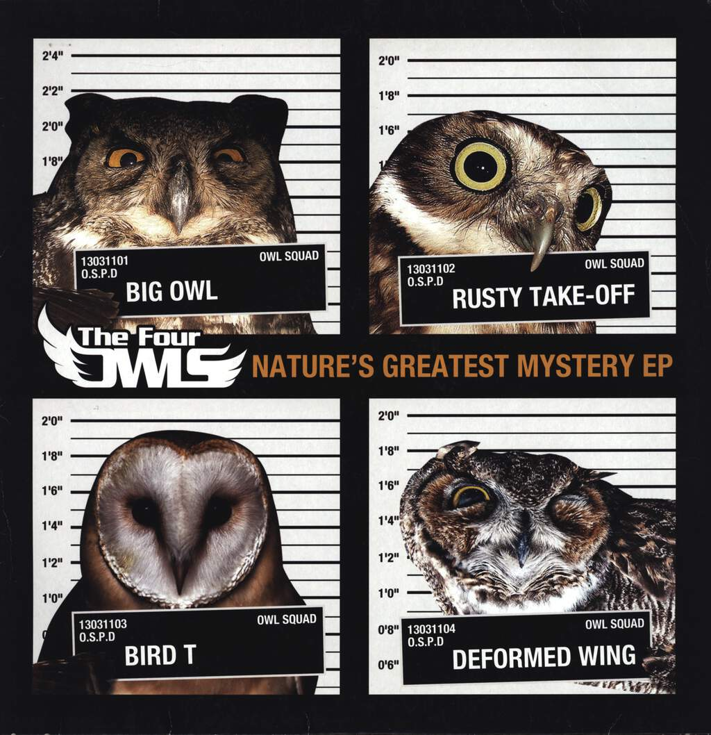 "The Four Owls: Nature's Greatest Mystery EP, 12"" Maxi Single (Vinyl)"