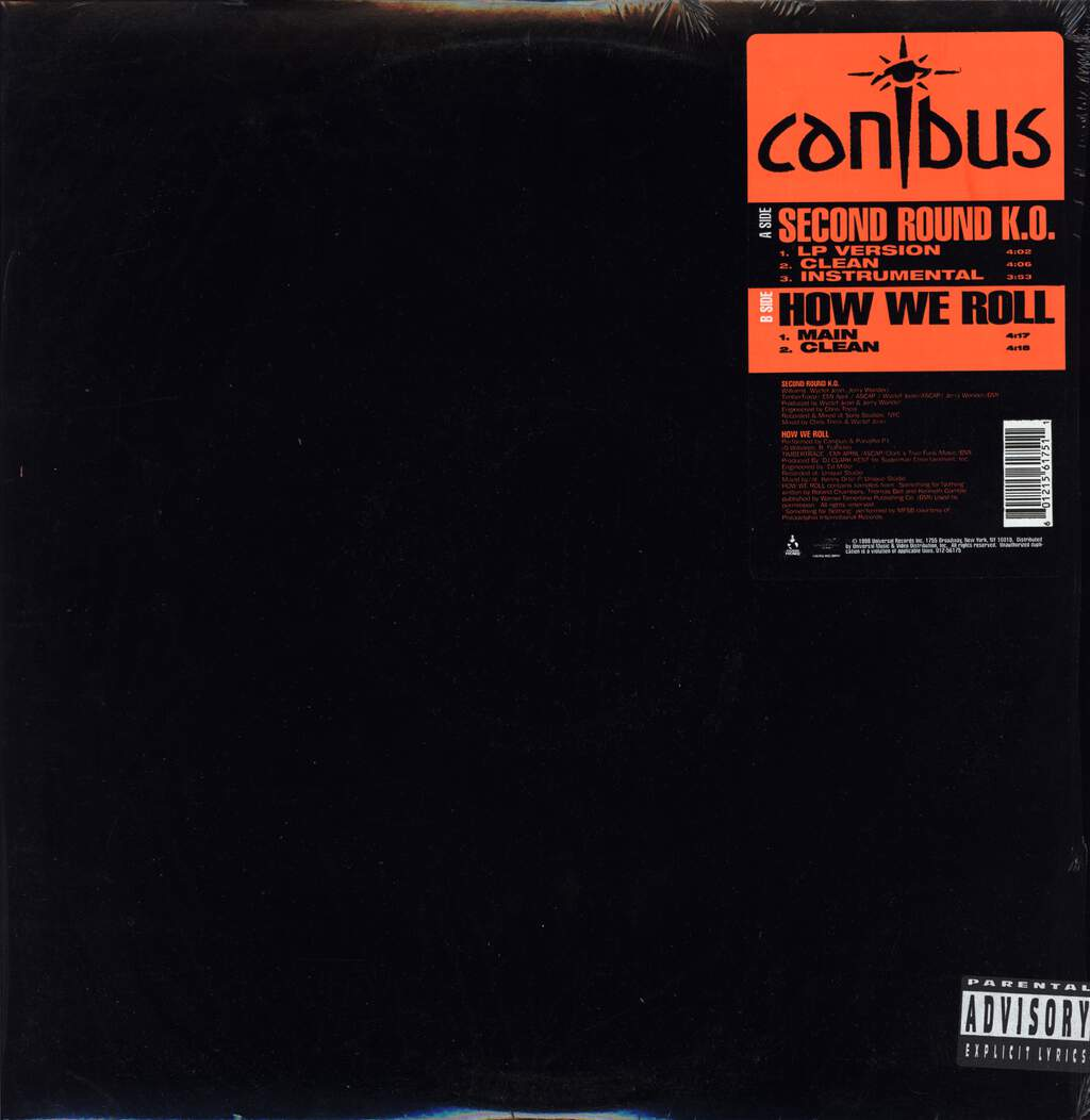 "Canibus: Second Round K.O., 12"" Maxi Single (Vinyl)"