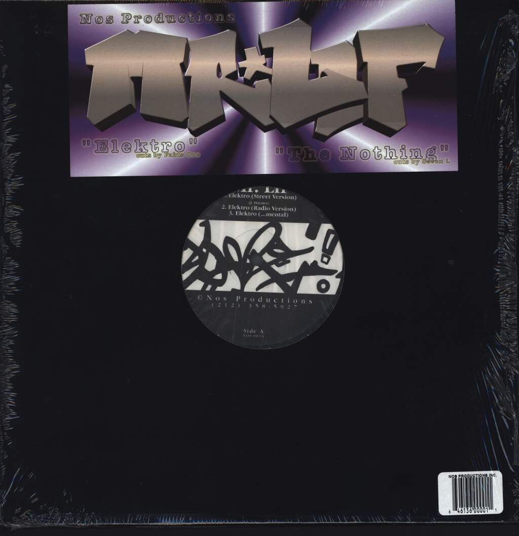 "Mr Lif: Elektro, 12"" Maxi Single (Vinyl)"